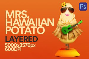 Character Mrs. Potato