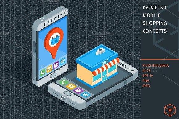 Isometric Mobile Phone