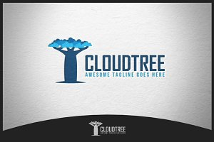 Cloud Tree Logo