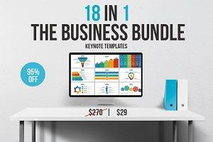 18 in 1 Business Keynote Bundle