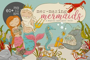 mer-mazing mermaids graphics