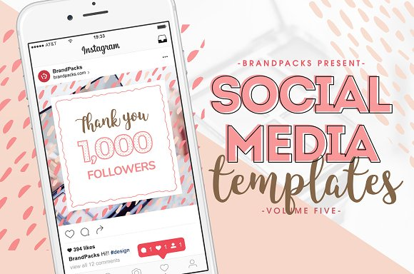 Social Media Templates Pack Vol.5