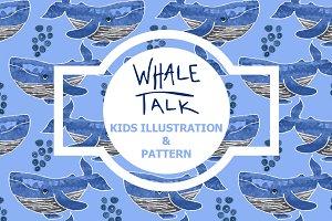 Whale Talk - Illustration & Pattern