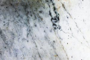Marble Detail in White