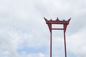 Sao Chingcha, Giant swing in Bangkok, Thailand.