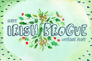 Irish Brogue Font
