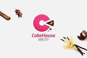 CakeHouse Bakery Logo