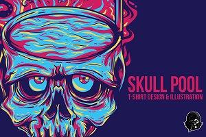 Skull Pool Illustration