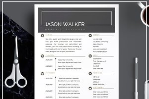 Resume Template/ CV/ Cover Letter