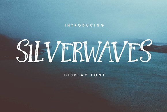Silverwaves Font