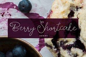 Berry Shortcake Font