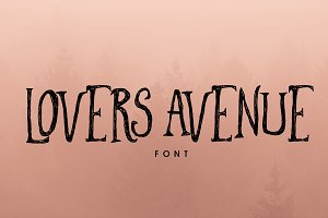 Lovers Avenue Font