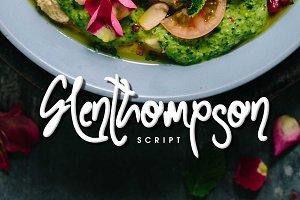 Glenthompson Script Font