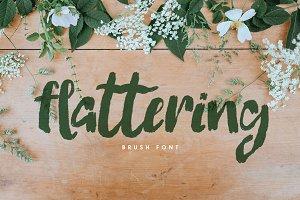Flattering Font