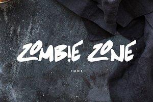 Zombie Zone Font