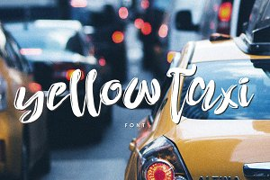 Yellow Taxi Font