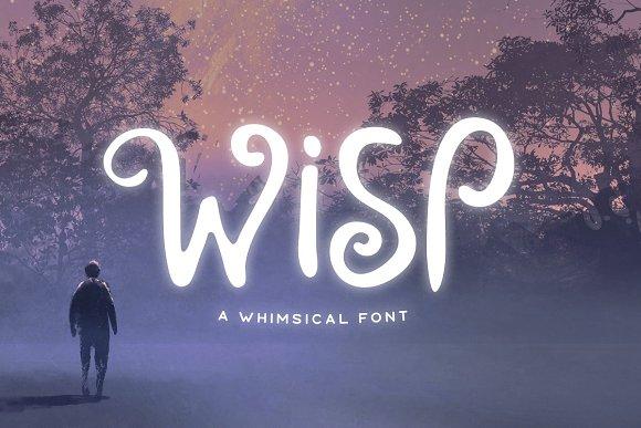 Wisp Typeface