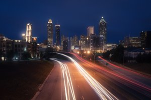 Night Atlanta