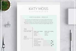 Resume Template/ Cover Letter- Mint