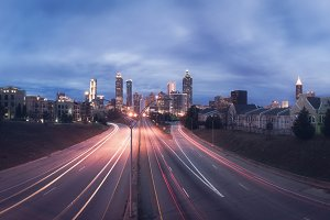 Atlanta city panorama