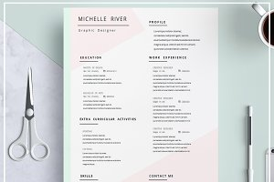 Resume CV Template/ Cover Letter