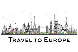 Famous Landmarks in Europe.
