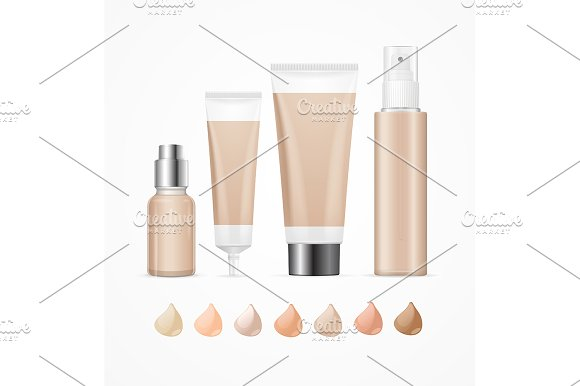 Foundation Cream Package Set