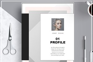 Resume Template/ Cover Letter/ Icon