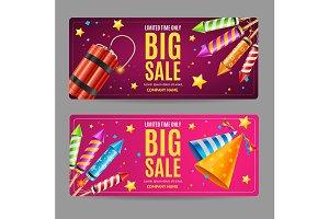 Big Sale Banner Card