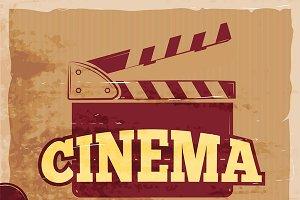 Movie festival vintage poster