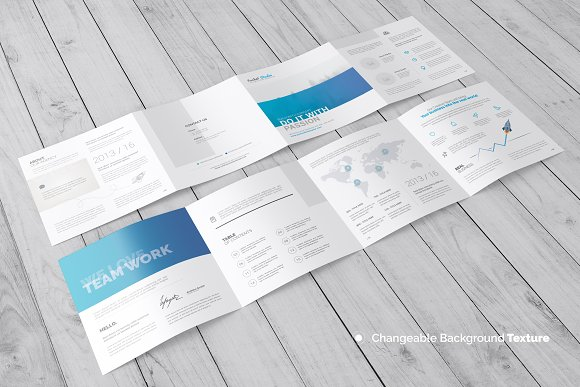 square 4 fold brochure mockup product mockups creative market