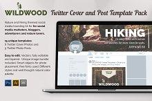 WILDWOOD Twitter Templates Pack by Mikko Lemola in Twitter