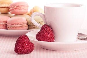 Dessert on valentine's