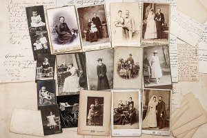 Antique Family Photos