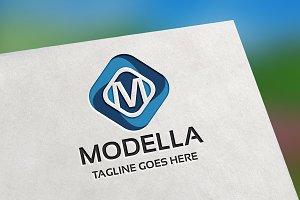 Modella (Letter M) Logo