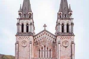 Basilica of Santa Maria, Covadonga, Asturias, Spain.jpg