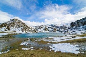 Lake Ercina, one of the famous lakes of Covadonga II.jpg