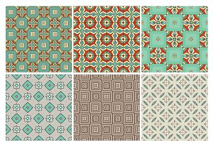 6 design retro patterns