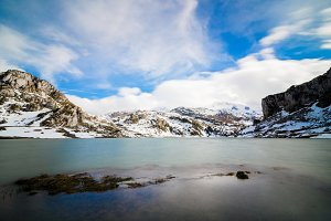 Lake Ercina, one of the famous lakes of Covadonga.jpg