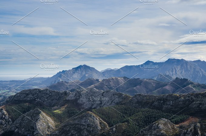 Viewpoint of Fito, view of the Picos de Europa. Asturias, Spain 3.jpg - Nature