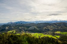 Viewpoint of Fito, view of the Picos