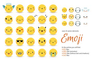 Emoji Vector Set