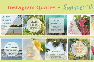 Instagram Graphics-Summer Vibes