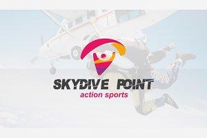 Skydive & Paragliding Logo