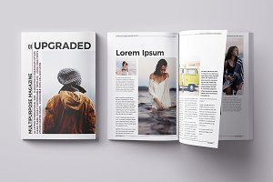 Upgraded Magazine Template
