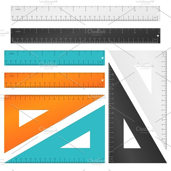Rulers And Triangle