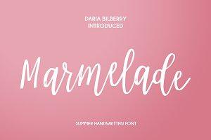 Marmelade Summer Handwritten Font
