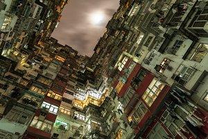 Hong Kong Overcrowded Flats