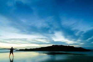 beach, Spain, Galicia