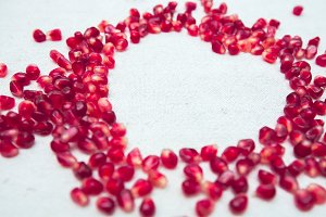 Pomegranate heart # 3